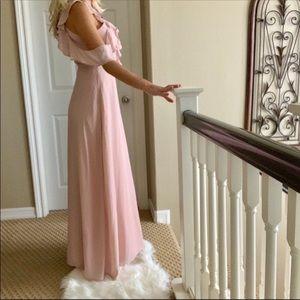 BB Dakota Dresses - 💍🌹Perfect Romantic BB DAKOTA Pink Maxi Dress 4
